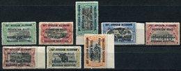 RUANDA-URUNDI COB N°28 / 35 * (B) - 1916-22: Neufs