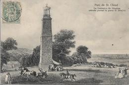 CPA.PARC DE SAINT CLOUD. LANTERNE DE DIOGENE (détruite Lors De La Guerre 1870/71) - Saint Cloud