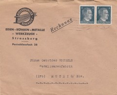 BRIEF . MICHEL & C° SRASSBURG TO MUTZIG ELSASS - Germany