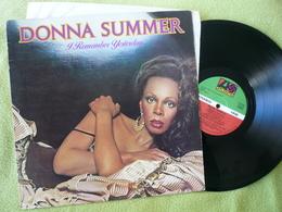 Donna Summer 33t Vinyles I Remember Yesterday - Disco & Pop