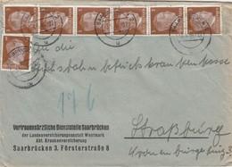 BRIEF . 3 5 44.  SAARBRÜCKEN TO SRASSBURG - Germany