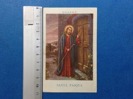 SANTINO HOLY CARD GESU' SANTA PASQUA - Santini