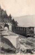 97Em  73 Aix Les Bains Le Train Du Chemin De Fer Du Revard - Aix Les Bains