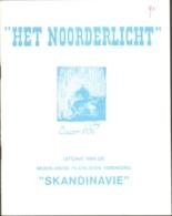 Het Noorderlicht, Tijdschrift Vd Scandinavië Vereniging, Nr 90 T/m Nr 109, Compleet Van 1987 (nr 90) T/m 1991 - Riviste