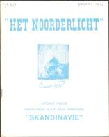 Het Noorderlicht, Tijdschrift Vd Scandinavië Vereniging, Nr 50 T/m Nr 69, Compleet Van 1977 (nr 50) T/m 1981 - Riviste