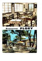 Cpm - 84 - VEDENE - RESTAURANT FLORY - Salle à Manger Terrasse - France