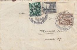 BRIEF. 25 2 38. IMMENSTADT TO BREGENZ OSTEREICH - Briefe U. Dokumente