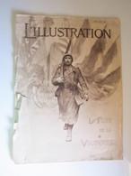 14-18 L'ILLUSTRATION « La Fête De La Victoire » N°3985-3986 - 19-26 Juillet 1919 - Grand Format Spécial (abimé) - Zeitungen