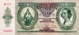 Hungary 10 Pengö, P-100 (22.12.1936) - UNC - Ungarn