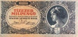 Hungary 10.000 Milpengö, P-126 (29.4.1946) - XF+ - Ungarn