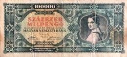 Hungary 100.000 Milpengö, P-127 (29.4.1946) - Fine - Ungarn