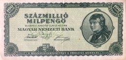 Hungary 100 Million Milpengö, P-130 (3.6.1946) - XF - Ungarn
