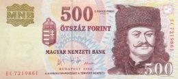 Hungary 500 Fiorint, P-194 (2005) - UNC - 1956 Hungarian Uprising Banknote - Ungarn