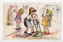Illustrateur GERMAINE BOURET - V'là Le Rémouleur - Bouret, Germaine