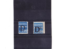 FRANCE COLIS POSTAUX N° 145-146 N** - Colis Postaux