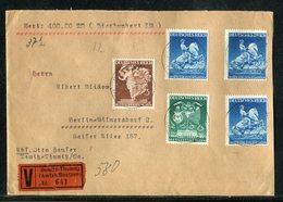 Deutsches Reich / 1941 / Mi. 771 3x U.a. Auf Wertbrief Ex Demitz-Thumitz (Bautzen) (19235) - Germany