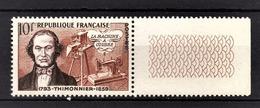 FRANCE 1955 -  Y.T. N° 1013 - NEUF** - France