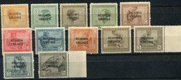RUANDA-URUNDI COB N°50 / 61 ** - 1924-44: Ungebraucht