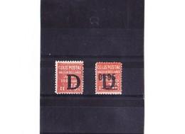FRANCE COLIS POSTAUX N° 135-136 N** - Colis Postaux