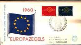 12351a)F.D.C.EUROPA CEPT   Nederland-  - 1960 - FDC