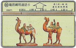 Taiwan - Bureau Of Telecomm. - LG - Glazed Pottery 6/6 - 512B - 1995, 100U, Used - Taiwan (Formosa)