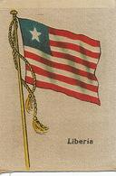 Silk Flag Of Liberia . Drapeau En Soie - Liberia