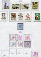 13766 BELGIQUE Collection Vendue Par Page N°1734 à 1749   */**  1974-75  TB/TTB - Belgium