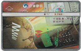 Taiwan - Chunghwa Telecom - LG - Call Centre 0950 - 752B - 1997, 100U, Used - Taiwan (Formosa)