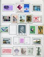 13773 BELGIQUE Collection Vendue Par Page N°1833 à 1854  **/*  1976  TB/TTB - Belgium