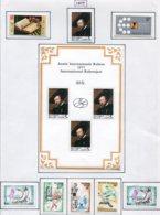 13774 BELGIQUE Collection Vendue Par Page N° 1855 à 1862  **/*  1977  TB/TTB - Unused Stamps
