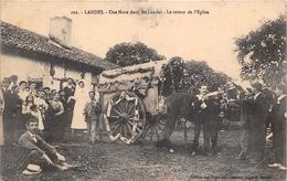 ¤¤   -    LANDES   -   Une Noce Dans Les Landes  -  Le Retour De L'Eglise    -   ¤¤ - Unclassified