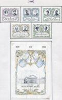 13782 BELGIQUE Collection Vendue Par Page N° 1978/83  **   1980  TB/TTB - Unused Stamps