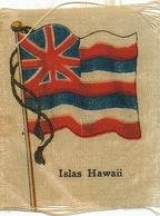 Silk Flag Of Hawaii    Drapeau En Soie Hawaii - Etats-Unis