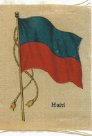 Silk Flag Of Haiti   Drapeau En Soie - Haïti