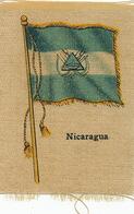 Silk Flag Of Nicaragua   Drapeau En Soie - Nicaragua