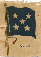 Silk Flag Of Australia Victoria   Drapeau En Soie - Australia