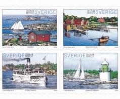 Schweden, 2004, 2406/09, MNH **,  Sommer In Den Stockholmer Schären. - Suède