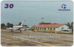 BRASIL I-750 Magnetic Telemar - Traffic, Airplane - Used - Brazil