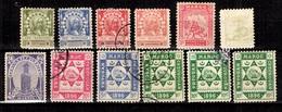 Maroc 12 Timbres De Postes Locales 1894/1899. Bonnes Valeurs. B/TB. A Saisir! - Postes Locales & Chérifiennes
