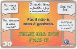 BRASIL I-755 Magnetic Telemar - Used - Brazil