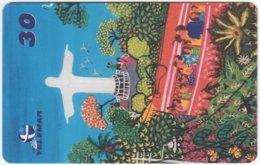 BRASIL I-758 Magnetic Telemar - Painting, Native Art - Used - Brazil