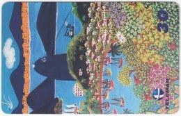 BRASIL I-759 Magnetic Telemar - Painting, Native Art - Used - Brazil