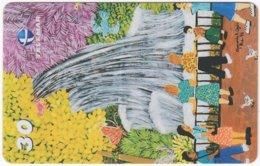 BRASIL I-761 Magnetic Telemar - Painting, Native Art - Used - Brazil