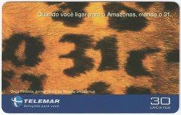 BRASIL I-797 Magnetic Telemar - Used - Brazil