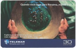 BRASIL I-802 Magnetic Telemar - Used - Brazil