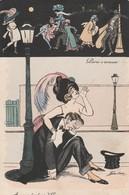 Cartolina - Postcard /  Non Viaggiata - Unsent /  Coppia Di Notte A Parigi. - Couples