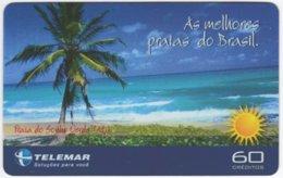 BRASIL I-818 Magnetic Telemar - Landscape, Coast - Used - Brazil
