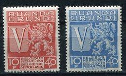 RUANDA-URUNDI COB N°148 / 149 ** POUR LES OEUVRES DE GUERRE - Ruanda-Urundi