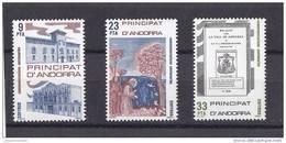 Andorra Española Nº 163 Al 165 - Andorra Española