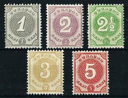 Curasao (Holandés) Nº 13/17 Nuevo - Curazao, Antillas Holandesas, Aruba